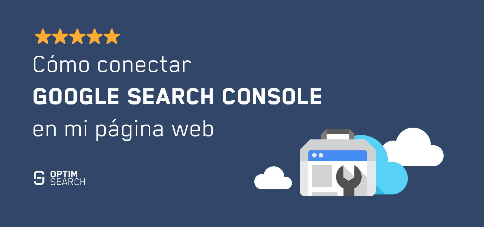 google search console conectar